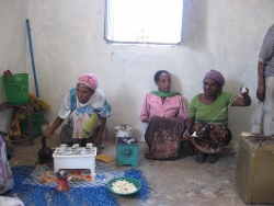 The kitchen is not only used to cook, but is a place to trade/sell cooked food and socialise