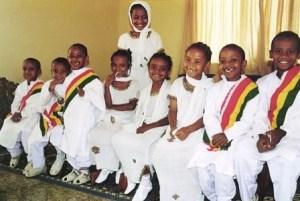 Fasika children