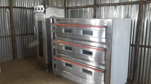 New ovens at the bakery
