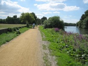 Thames Path Marathon Pic